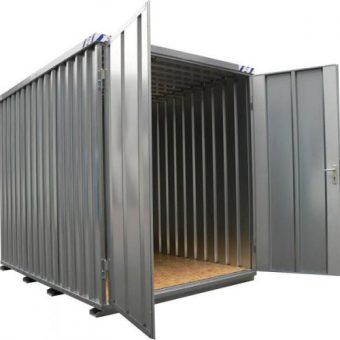 demontabele snelbouw container 1x2 meter