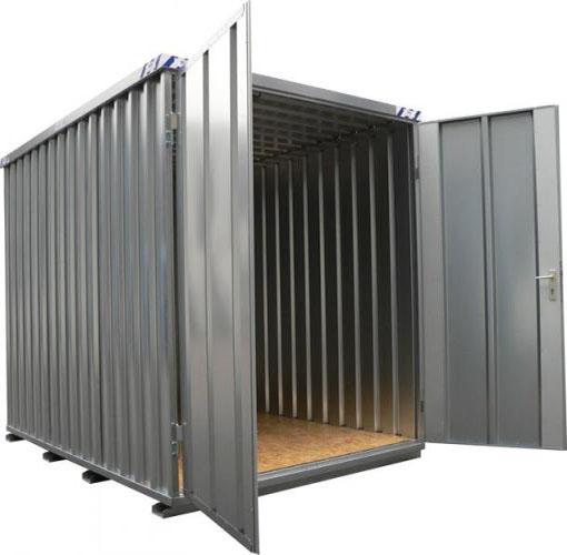 Demontabele Snelbouw Container 6×2