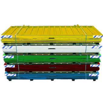 demontabele snelbouw container in kleur 5x2 meter
